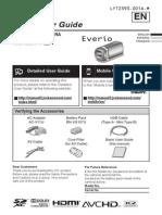Manual JVC GZ-E200