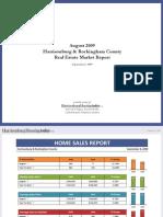 August 2009 Harrisonburg & Rockingham County Real Estate Market Report
