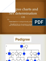 pedigree charts and sex determination