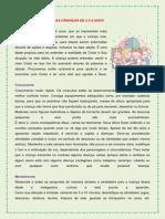 A PSICOLOGIA DA EDUCAÇÃO CRISTÃ - 4 A 6 anos