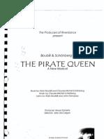 The Pirate Queen Libretto