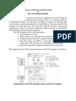 EC2303 Unit i the Ias Computer Architecture