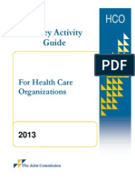 2013 Organization SAG (2)--Survey Guide