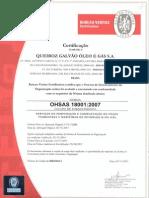 Queiroz Galvao Ohsas 18k Br0128940001