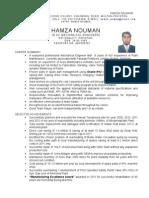 CV Hamza Updated December 2013