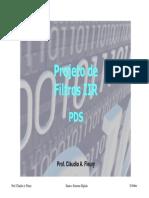 Slides 14 - Projeto de Filtros IIR