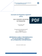 XXIV Congreso Argentino de Psiquiatria
