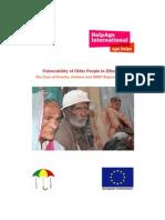 Vulnerability of older people in Ethiopia