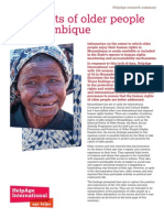 The rights of older people in Mozambique