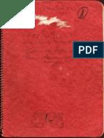 El diario del Che en Bolivia (manuscrito original)