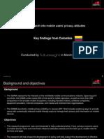 Mobile User Privacy Colombia