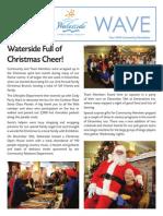 Waterside January 2014 Newsletter