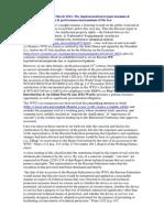09-Post Number Nine–27 March 2012–The implementation:осуществление & execution:выполнение & performance:исполнение of the law