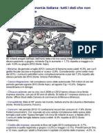 La verità sull'Economia italiana- tutti i dati che non potete non sapere