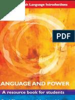 82820464 Language and Power a Resource Book for Students Escrito Por Paul Simpson Andrea Mayer