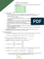 Matrices Determinantes