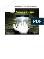 Ultrabright LED Emergency Lamp