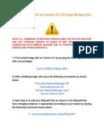 Bridging Cent Os Manual