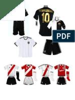 Modelos de Uniformes Para Equipo de Futbol