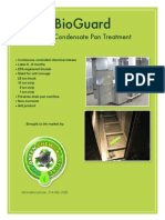 MSDS and Spec BioGuard Condensate Drain Pan Treatment