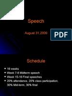 Speech Outline 1