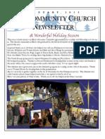 Newsletter, Jan 14