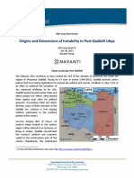 HSPI Issue Brief 21 Instability Post-Qaddafi Libya
