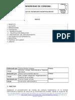 PUAES-011 Manejo de Residuos Hospitalarios (Ver.1)[1]