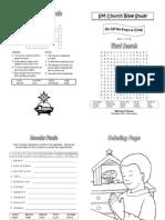 2014-01-05 Bible Study Materials