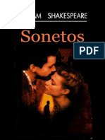 sonetos shakekespeare español