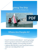 11 b- righting the ship how to get your career planning in gear