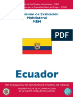 Ecuador - Follow-Up - 4th Round - ESP