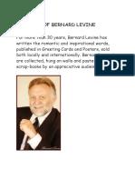 The Best of Bernard Levine