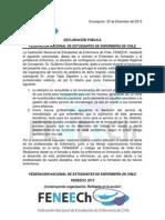 Declaración FENEECh