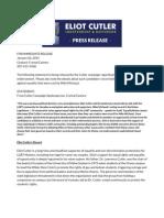 Full Cutler Press Release on EQME Endorsement