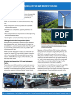 Hydrogen Fuel Cell Electric Vehicles