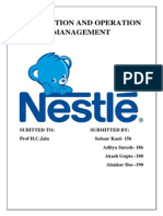 Project Report on Nestle