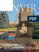 University of Denver Magazine Winter 2014