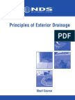 Principles of Exterior Drainage
