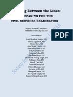 Preparing for Civil Services Examination