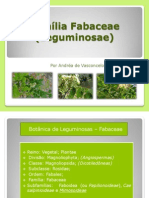 Família Fabaceae (Leguminosae) - Aula 4