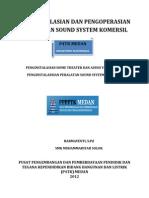 Penginstalasian Dan Pengoperasian Peralatan Sound System Komersil