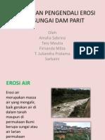 Bangunan Pengendali Erosi Air Sungai Dam Parit