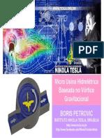 Instituto Nikola Tesla - Micro Usina Hidrelétrica - Projeto Piloto