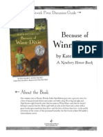 Because of Winn-Dixie Discussion Guide