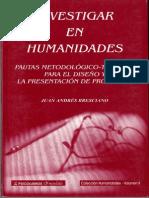 Bresciano - Investigar en Humanidades