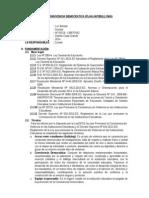 Plan de Trabajo Antibullyng 2014