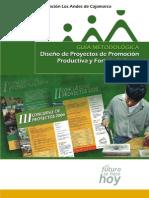 DAVID MEDIANERO BURGA_ Guía Metodológica. Diseño de Proyectos de Promoción Productiva y Fortalecimiento Empresarial