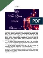 Mesaje Si Urari de Anul Nou