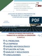 Analisis Riesgo Puesto Trabajo Cantera Concepcion s i m p c A